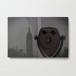 Empire State View Metal Print