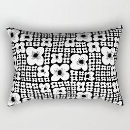 Just Flowers Bunch Rectangular Pillow