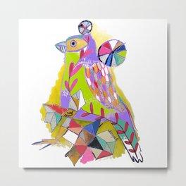 COLOR ME BIRDY Metal Print