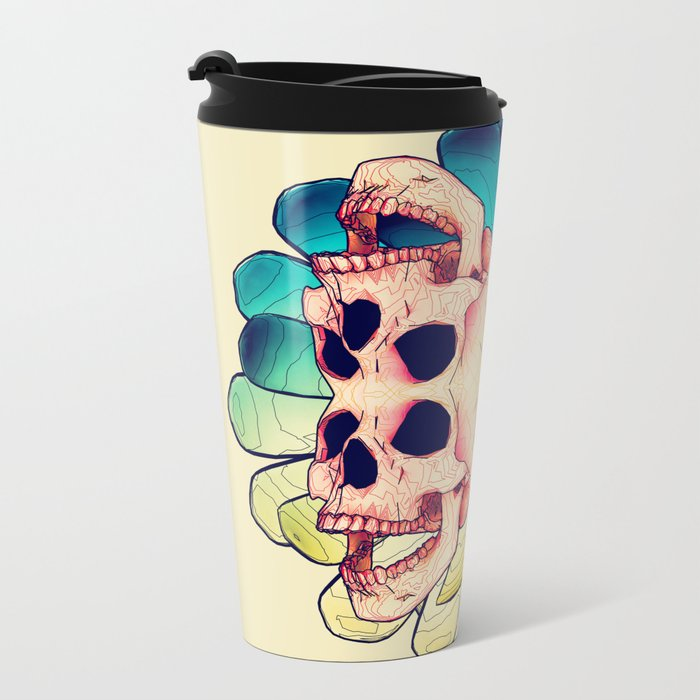 The Human Virus Metal Travel Mug