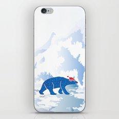 Polarbear in Love iPhone & iPod Skin