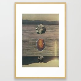 Totems Framed Art Print