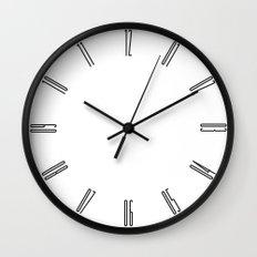 Tall numbers Wall Clock