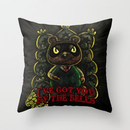I've Got You By the Bells Throw Pillow