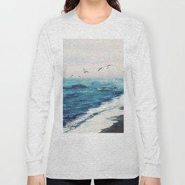 Watercolor Coast Long Sleeve T-shirt