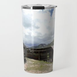 Exploring the Longfellow Mine of the Gold Rush - A Series, No. 1of 9 Travel Mug