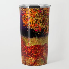 Autumn Horse Bewitched Travel Mug