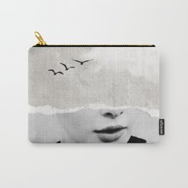 minimal collage /silence Carry-All Pouch