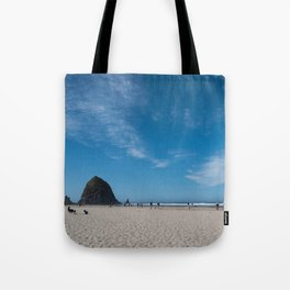 Haystack Rock, Cannon Beach Tote Bag