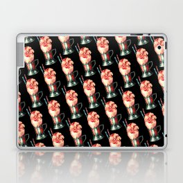 Strawberry Milkshake Pattern Laptop & iPad Skin