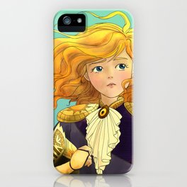 Tammy Wurtherington Freedom Fighter: Aqua iPhone Case