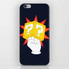 Power to the Plumbers iPhone & iPod Skin