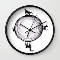 marauders Wall Clocks featuring Marauders Moon II by srw110