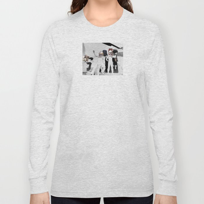 The Return of the SpaceCowboys / Teletubbies Long Sleeve T-shirt
