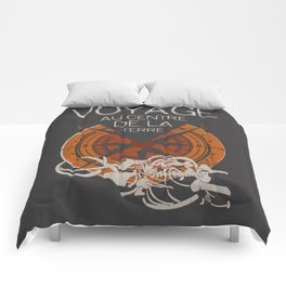 Books Collection: Jules Verne Comforters