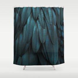 DARK FEATHERS Shower Curtain