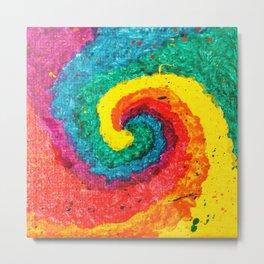 Rainbow Abstract #4 Metal Print
