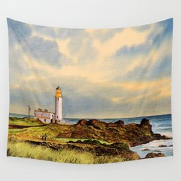 Turnberry Golf Course Scotland 9th Tee Wall Tapestry