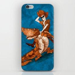 Crocodile Cowboy iPhone Skin