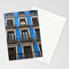 Madrid Blues Stationery Cards