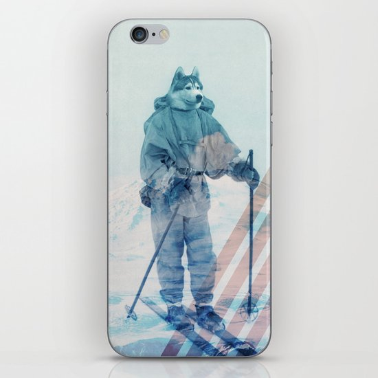 Husky Exploration iPhone & iPod Skin