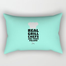 Real Grill Chefs are from Poland T-Shirt Dtz6s Rectangular Pillow