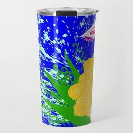 simurgh floral  Travel Mug