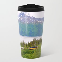 Alaska Passenger Train - Bird Point Travel Mug