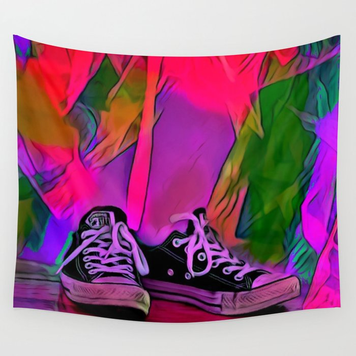 Dance Shoes Wall Tapestry