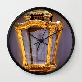 Castle Nympfenburg Munich : The golden Lantern Wall Clock