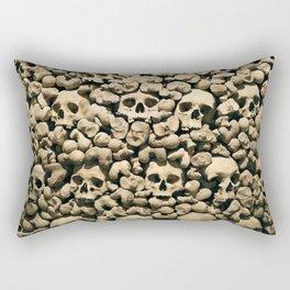 Wall of Remains Rectangular Pillow