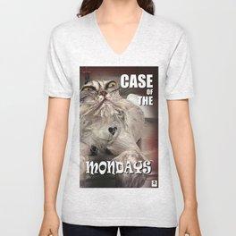 Case of the Mondays - CAT Unisex V-Neck