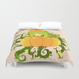 Sleepy Pumpkin Duvet Cover