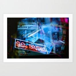 Video Bunker Art Print