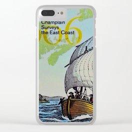 Champlain's Survey Clear iPhone Case