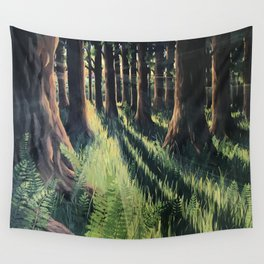 Fern Forest Wall Tapestry