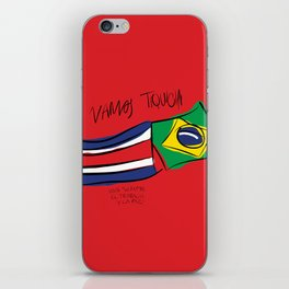 VAMOS TIQUICIA iPhone Skin