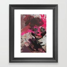 never let u go.. Framed Art Print