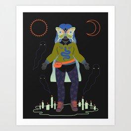 Witch Series: Seance Art Print