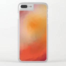 The Sky Part 1 Clear iPhone Case