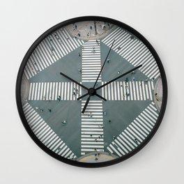 City Zebra Wall Clock