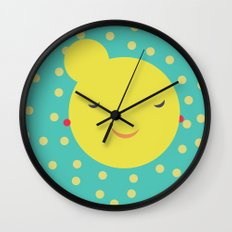 miss little sunshine Wall Clock