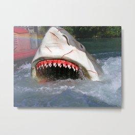 Shark Attack! Metal Print