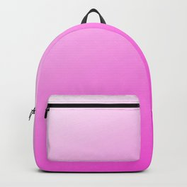 Fuchsia Pink Modern Girly Ombre Backpack