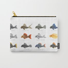 Pleco! - white Carry-All Pouch