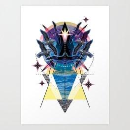 Day 96: Alba Art Print