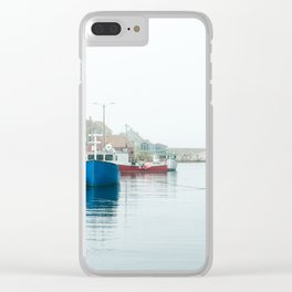 Peggy's Cove fishing village. Clear iPhone Case