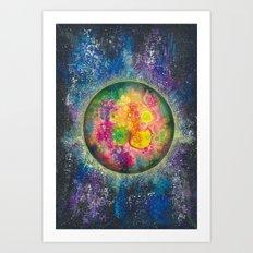 Your planet Art Print