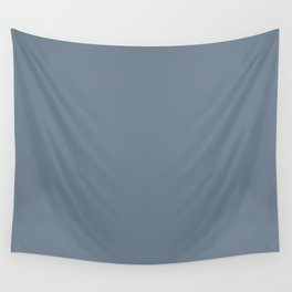 color slate grey Wall Tapestry
