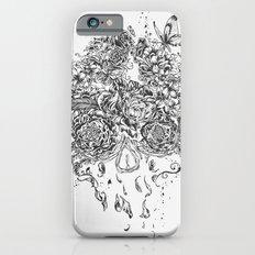 Skull Flower iPhone 6 Slim Case